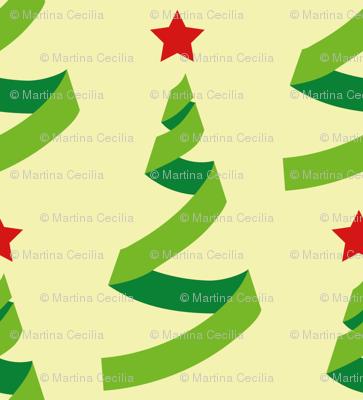 Christmas trees - geometric
