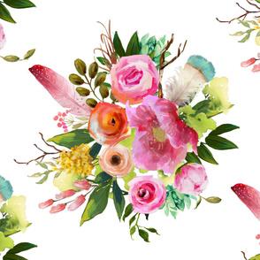 "54""x36"" Summer Teepee Florals"
