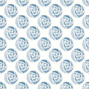 Blue roses macintosh