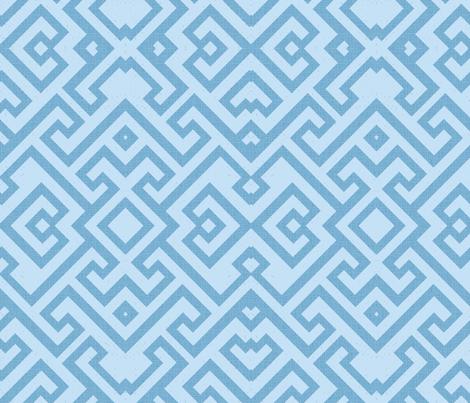 Modern Greek Key fabric by pixabo on Spoonflower - custom fabric
