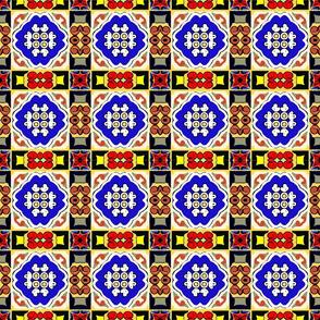 Spanish Tile Motif