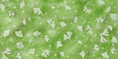 Greenery Ginkgo Allover