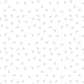 grey nursery fabric - girls sweet design
