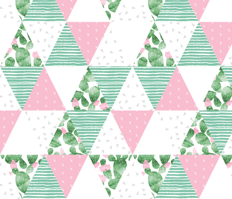 Cactus Quilt 10 Designs By Charlottewinter