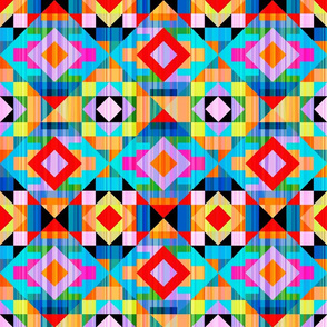 Modern Kilim Bright and Bold