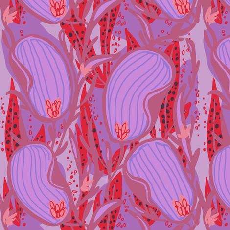 stripeleaf abstract_3R fabric by kheckart on Spoonflower - custom fabric