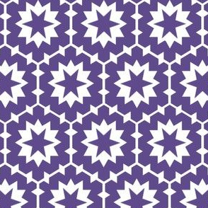 Hex and Stars (ultraviolet)