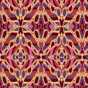 Usiku Siku 10 in Pink  Lilac Sienna & Burnt Umber