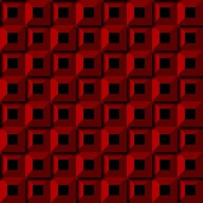 Barnacle Pattern - Red
