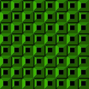 Barnacle Pattern - Green
