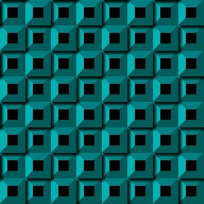 Barnacle Pattern - Turquoise