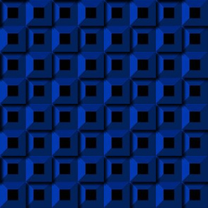 Barnacle Pattern - Blue
