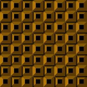 Barnacle Pattern - Gold