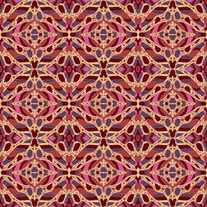 Usiku Siku 8 in Pink Lilac Sienna & Burnt Umber