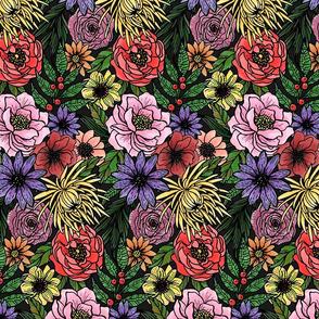 Floral Coloring Book by Angel Gerardo