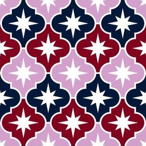 07180453 : crombus star : navy orchid burgundy