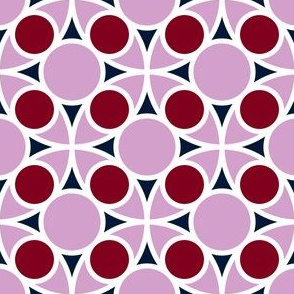 07180518 : R4 circles : navy orchid burgundy