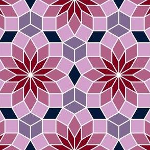 07180649 : SC3 V234R : navy orchid burgundy
