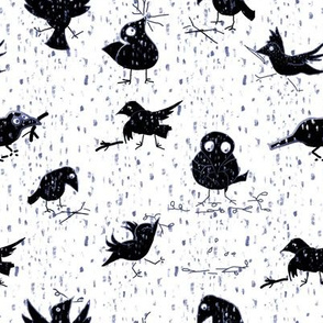 Crows Twigs