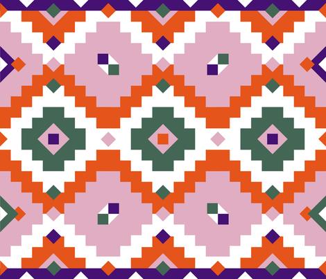 Kilim Shushuinshanghai-01 fabric by shushuinshanghai on Spoonflower - custom fabric