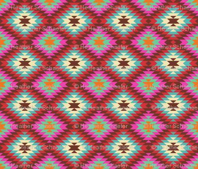 Turkish Kilim Large Pattern