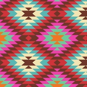 Turkish Kilim Large Pattern