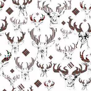 Checkered Antlers