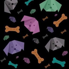Origami pups