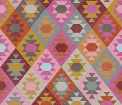 Kilim fabric by eto on Spoonflower - custom fabric