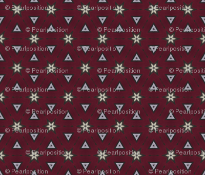 Bordeaux Collection: Stars and Triangles