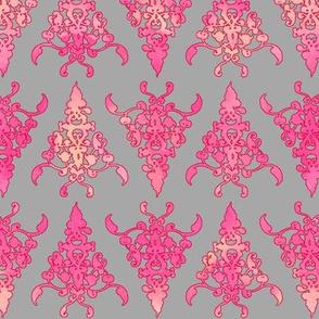 arabesque doodle pattern