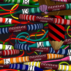 Inzanesane Crayons Panel