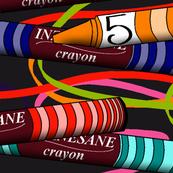 Inzanesane Crayons Panel