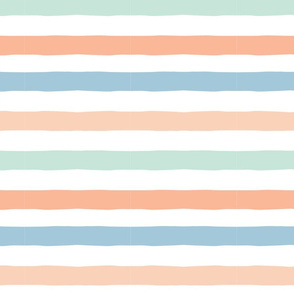 PASTEL BEACH STRIPES