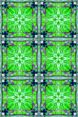 Green flowers-Tessela