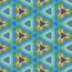 Blue Green Purple