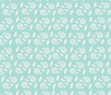 floral_forest3 fabric by krista_power on Spoonflower - custom fabric