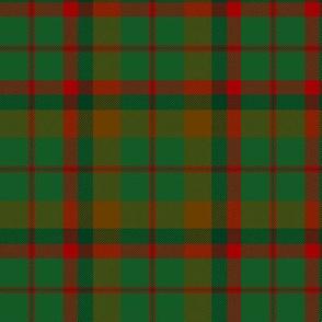 "MacNaughton hunting tartan, 6"""