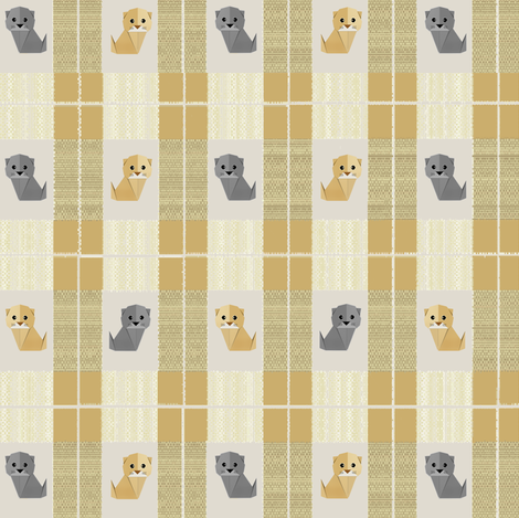 ScottishFoldedPlaid fabric by hanging_by_a_string on Spoonflower - custom fabric