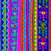 Peruvian Tribal Folk Art