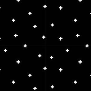 Scandinavian print Black and white