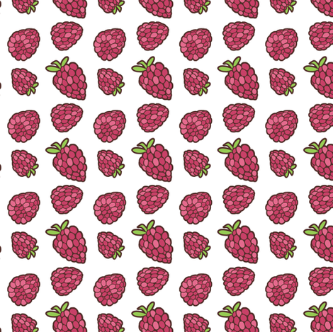 Raspberry fabric by evacchi on Spoonflower - custom fabric