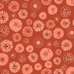 Marigold Chili Monochrome