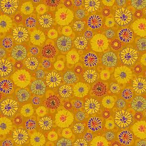 Marigold Millefiori Double