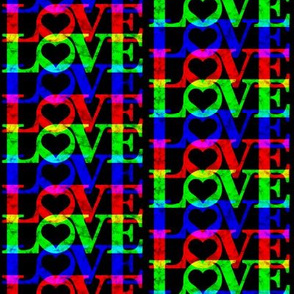 RGB Love Black