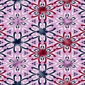 Orchid Navy col palette design challenge
