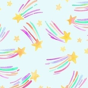 shooting star blue