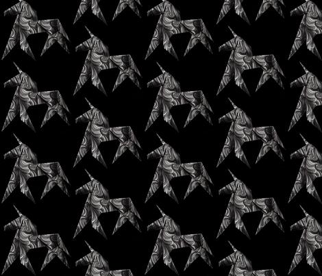 Origami Unicorns fabric by heckadoodledo on Spoonflower - custom fabric