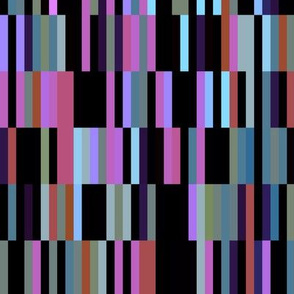 Colorful Horizontal and Vertical Stripes