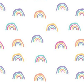 Hand Drawn Rainbows
